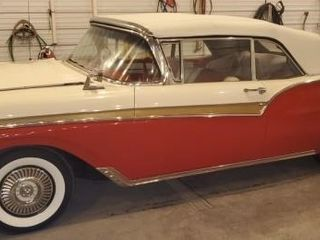 Classic 1957 Ford Fairlane Convertible