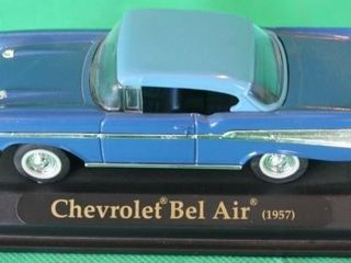 1957 Chevy Bel Air  1 43 Scale  Base Included