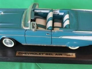 1957 Chevy Bel Air  1 18 Scale   Metal Sign