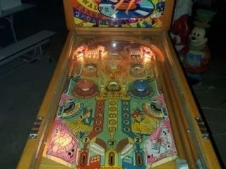 Hot Diggity Coin Operated Pinball Machine
