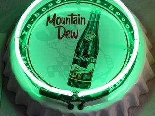 Mountain Dew Neon Sign