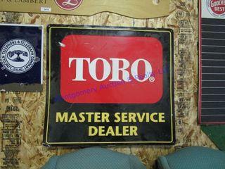 TORO DEAlER SIGN