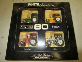 WHITE AMERICAN TRACTORS