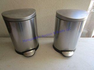 METAl TRASH CANS