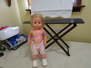 DOll AND IRONING BOARD