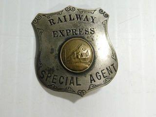 Railway Express Badge