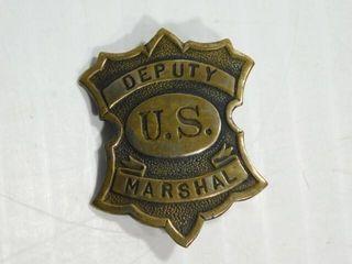 U S  Marshal Badge