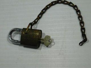 Champlin Oils lock w key