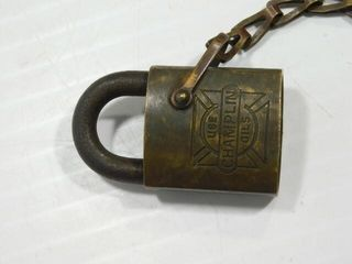 Champlin Oils lock