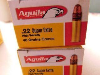 Aguila 22lR 40gr 100rds