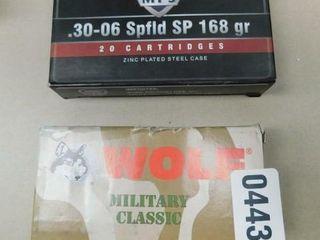 Wolf   MFS 30 06 Spring 145gr   168gr 40rds