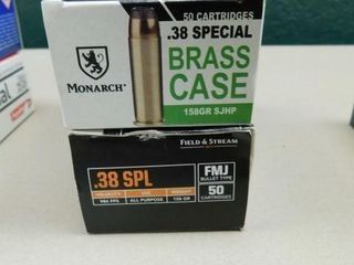 Monarch   Field and Stream 38spec 158gr 100rds