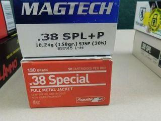 Magtech   Aguila 38spec 158gr 100rds