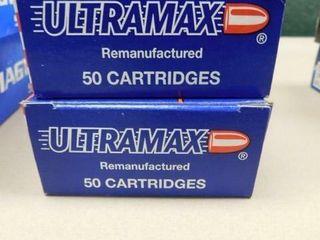 Ultra Max 40 S W 180gr JHP 100rds