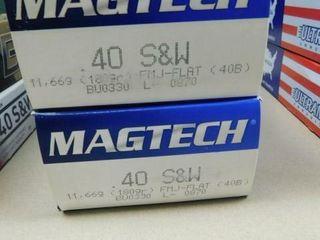 MagTech 40 S W 180gr FMJ 100rds