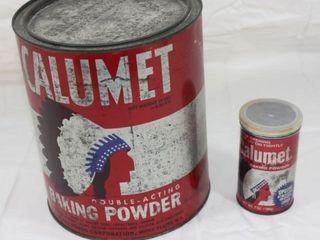 large Calumet Baking Powder Tin   Other