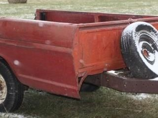 Ford Pickup Bed Trailer 8  x 5 1 2