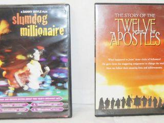 2 DVDs Slumdog Millionaire and Twelve Apostles
