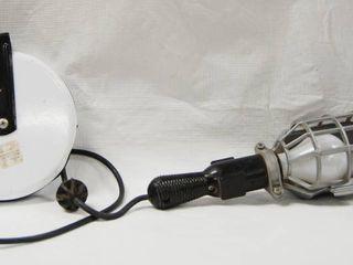 Work light w  Retractable Cord