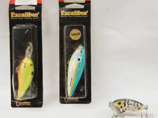 lot of 3 Vintage Fishing lures