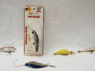 lot of 5 Fishing lures  One still in Original Package