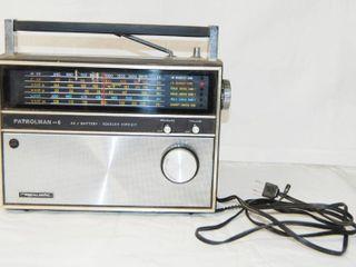 Realistic Radio   Patrolman 6  A C   Battery   Squelch Circuit VERY NICE