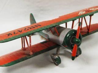 GREAT CHRISTMAS PRESENT  Sky Phillips 66 Writer Airplane   Metal