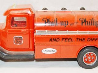 Phillips 66 Gasoline Tanker  Coin Bank  limited Edition   Plastic