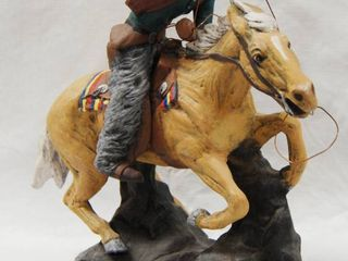 Cowboy and Horse Figurine See Photos for Different Poses