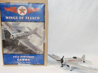 Wings of Texaco  1932 Northrop Gamma Airplane  2nd in the Series