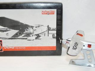 Collectible Phillips 66 FORD Tri Motor Airplane