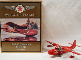 Wings of Texaco  1940 Grumman Goose Airplane  Very Collectible