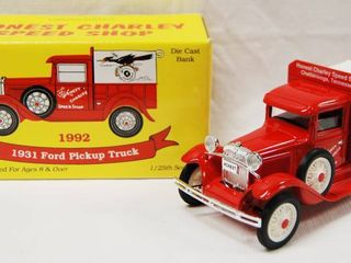limited Edition 1931 Ford Pick Up Truck  Die Cast Bank