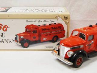 Phillips 66  Vintage Truck Bank w  Original Box