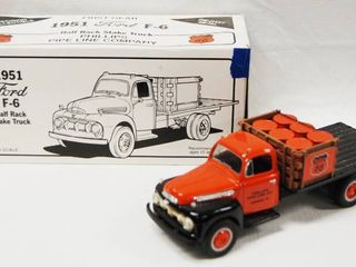 limited Edition 1951 Ford F 6 Half Rack Stake Truck