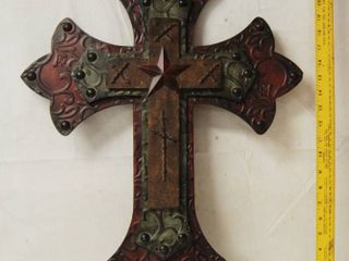 Beautiful Metal 3D Cross A Must Have