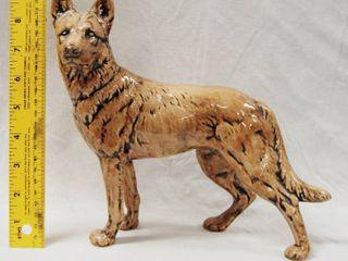 German Shepherd Figurine Collectible