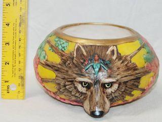 Beautiful Wolf Decorative Bowl