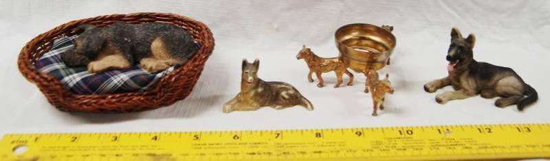 German Shepherd Misc  Figurine Items