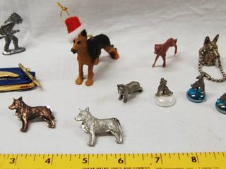 lot of German Shepherd and Wolf Misc  Items