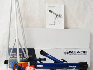 Infinity 50 Refractor TElESCOPE  Meade Infinity 50  w  Original Box and Instructions  Includes 3 Eyepieces 30x  50x  150x