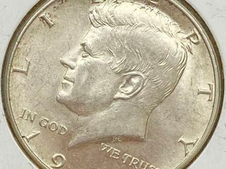1964 D Kennedy Half Dollar Coin