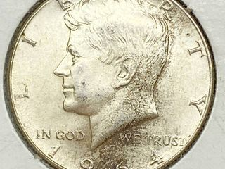 1964 Kennedy Half Dollar Coin