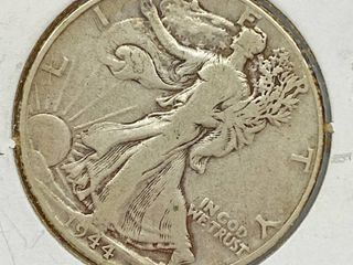 1944 liberty Silver Half Dollar Coin