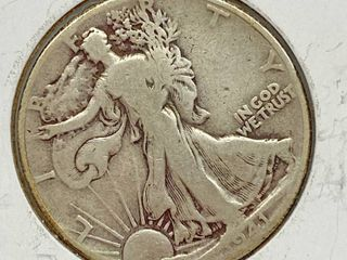 1941 liberty Silver Half Dollar Coin