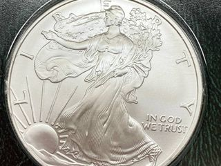 2007 American Eagle Silver Dollar Coin   UNCIRCUlATED