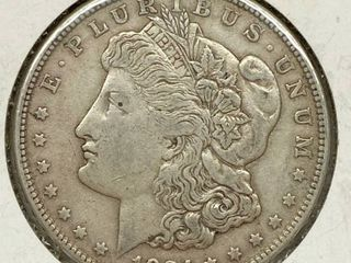 1921 S Morgan Silver Dollar Coin