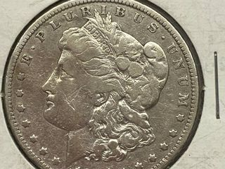 1901 O Morgan Silver Dollar Coin