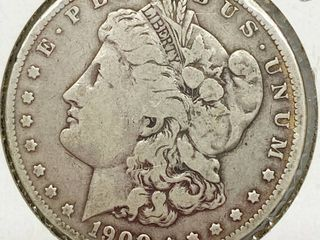 1900 O Morgan Silver Dollar Coin