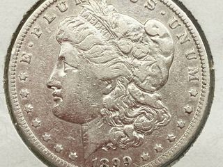 1899 O Morgan Silver Dollar Coin